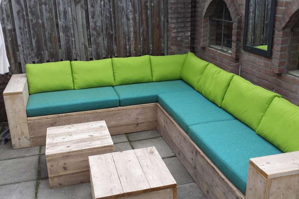 design tuin loungebank