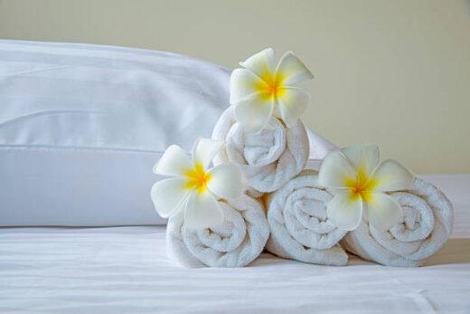 Handdoeken borduren